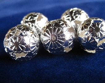Filigree Beads MILLEFIORE torch fire bead torch firing