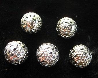 iron metal filigree beads bead BUCKSHOT torch fire torch firing
