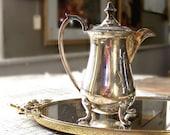 Vintage Individual Silver Plate Tea or Coffee Pot