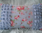 Rare Cath Kidston fabric with Vintage Chenille Pillow - Removable Cover