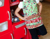 Child's Christmas Apron Size 2t to 3t
