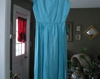 "sky sky blue """" aquatic shimmer maxi prom dress """" ON SALE"