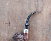 Antique 30's Italian smoking pipe by Well Pipe