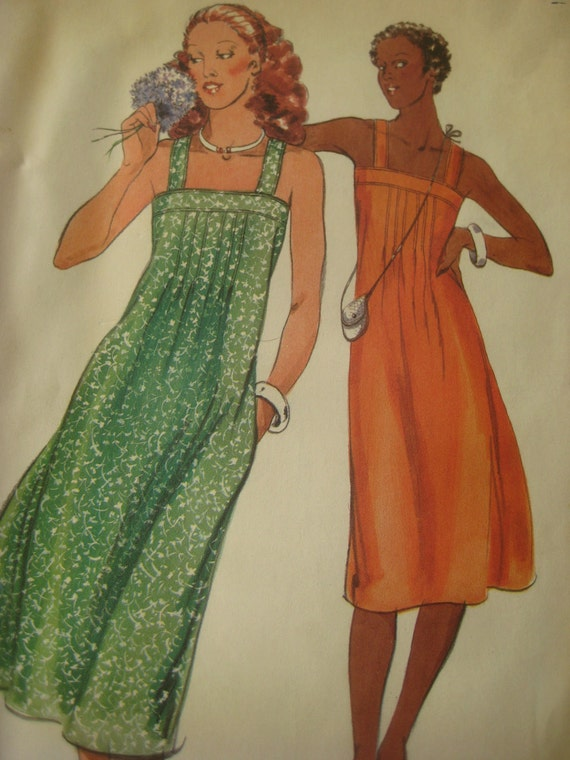 Vintage Butterick 5355 Sewing Pattern, Dress Pattern, Vintage SIze 12