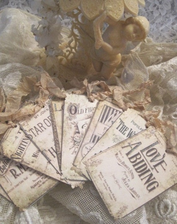 CUSTOM LISTING for Elyse Perez - ONLY - French Wedding Gift Tags 187