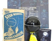 RESERVED Vintage 1960s Nova Junior Planetarium with Original Box and Pamphlet
