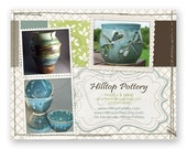 RESERVED - EtsyMommies Spring Raffle Prize (Custom Shop Promo Card / Photo Card / Invitation - Printable Digital File Only)