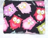Owls coin bag