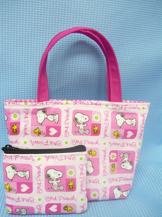 Snoopy Kids Purse and Coin Bag Set