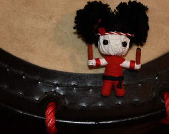 Drummies: Girl Taiko Player (in Black, red or blue happi) Sidekick - Specify color in order