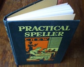 Blank Notebook Renovated Vintage - Practical Speller - 160 Pages
