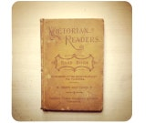 Blank Notebook - Victorian Readers Third Book - 220 Pages