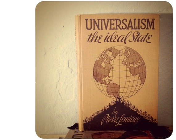 Blank Notebook - Universalism: The Ideal State - 240 Pages