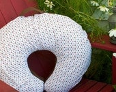 Nursing Pillow Cover - Brown Orange Dot (Boppy)