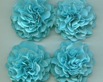 Baby Blue Carnation Paper Flowers