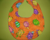 Quilted & Reversible Baby Bibs - fun designs and fabrics - combine your choice in a special order