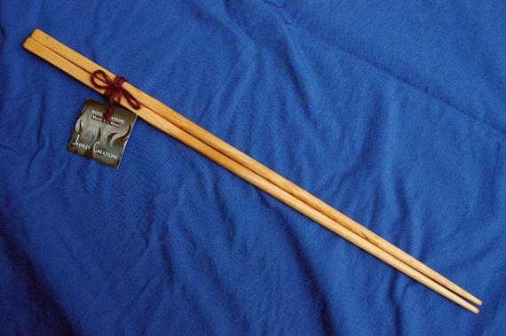 Cooking Chopsticks 18 inch Rock Maple