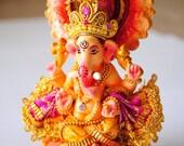 A Wonderful Piece of Handmade Hindul Goddess Ganesha Statue