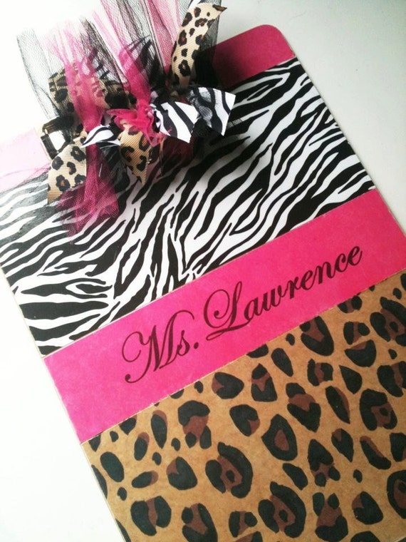 Clipboard , Pink, Zebra , Animal , Leapord Print