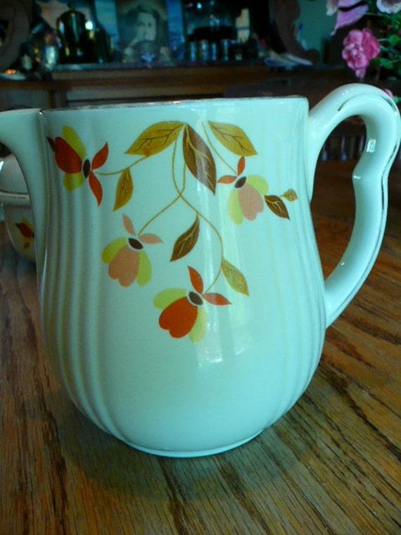 Jewel Tea Antique Halls Superior Quality Kitchen Pitcher
