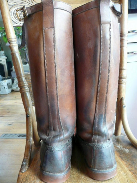 The Gokey Company very vintage men's Boots SOOO Beautiful hand crafted