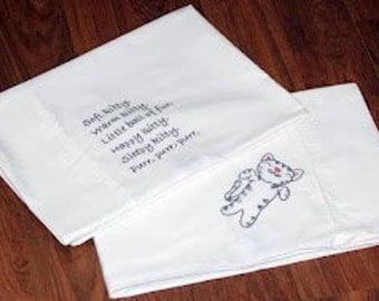 Soft Kitty Pillow Set
