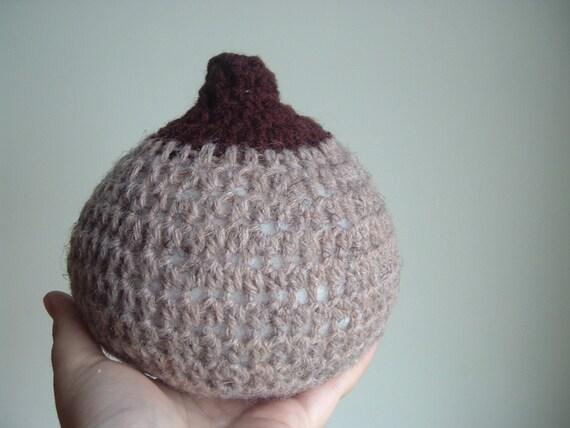 Crocheted Breast (dark skin)