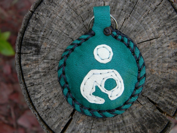 Breastfeeding Symbol Keychain (green)