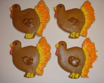 1 DZ Turkey Gobblers Sugar Cookies