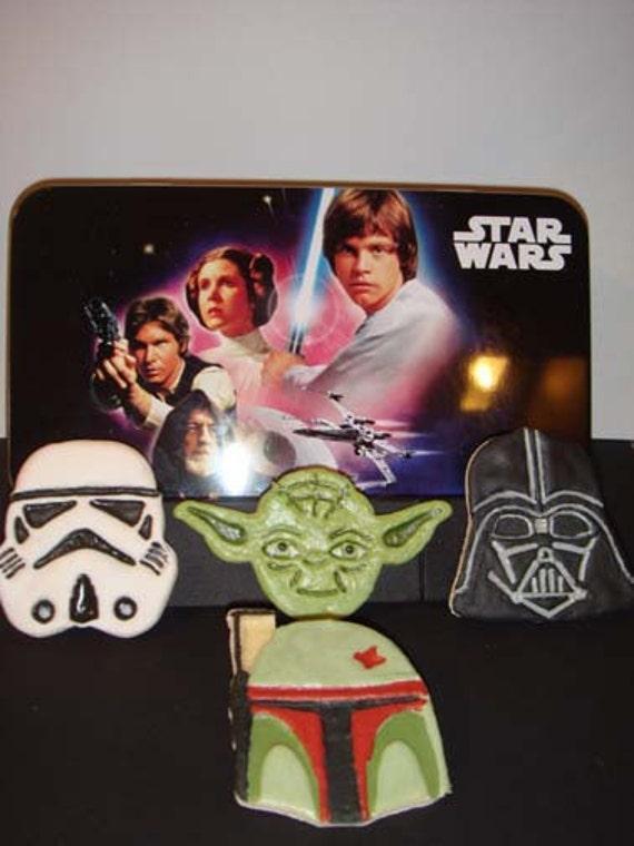 1 Dz  Star Wars Sugar Cookies