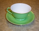 Vintage Noritake Tea Cup and Saucer from 1940's