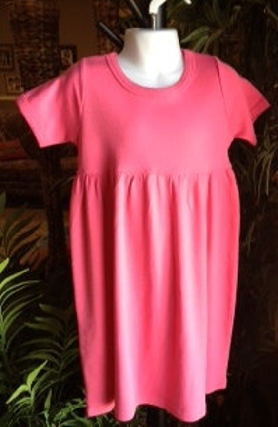 Photo Prop Dress in 2 Pinks 4T or 5T