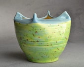 Wheel Thrown Speckled Bowl Ready To Ship by Symmetrical Pottery