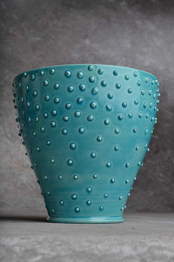 Dottie's Cousin Louise Wheel Thrown Pot by Symmetrical Pottery