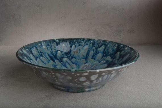Wheel Thrown Earthenware Bowl by Symmetrical Pottery
