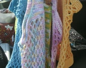 Crocheted Cotton Market Bags