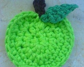 Apple Applique Crochet PDF Pattern instant download