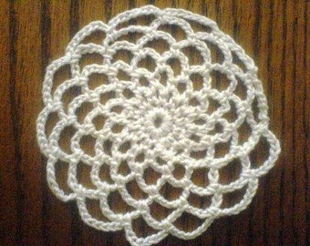 Mini Doily Coaster, Christmas Ornament, Snowflake, Dreamcatcher PDF Pattern, instant download