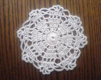 Mini Doily Coaster, Christmas Ornament, Snowflake, Dreamcatcher PDF Pattern instant download
