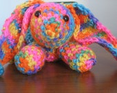 Crochet Multi-color Bunny