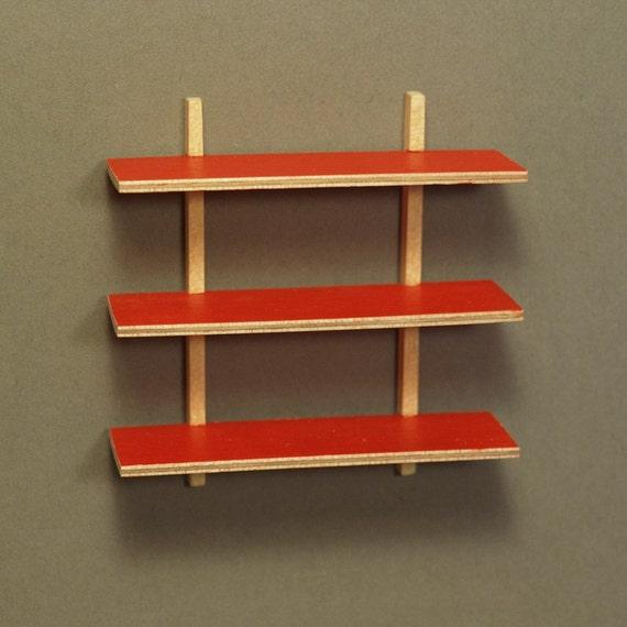 Innovative Wall Shelves: Modern Wall Shelf RED