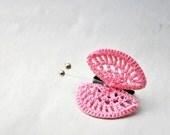 Butterfly Brooch in Pink