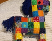 Patchwork horse-Reserved for two adorable little boys