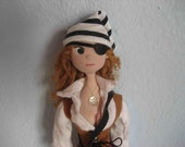Pirate Doll - Red