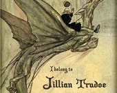 Dragon Rider - Personalized Bookplate - Great Gift