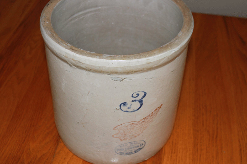 Red Wing Union Stoneware Crock 115