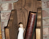 Walnut Finish Shelf ON SALE