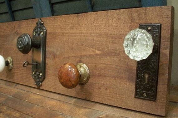 Nice Door Knobs Used As Coat Hooks Vintage Treasures Door Knob Coat Rack