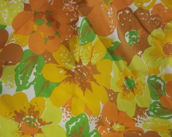 SALE--Sunrise Surprise Vintage Fabric