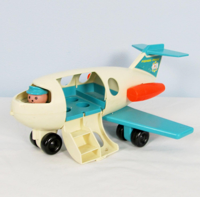 Vintage Toy Airplane 75